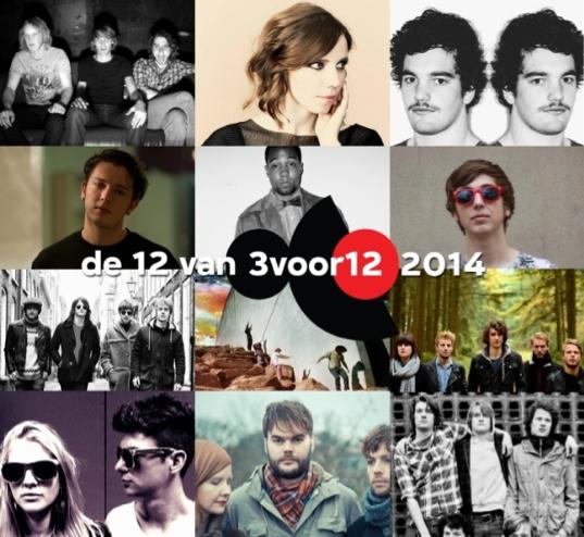 De 12 van 3voor12 voor 2014.