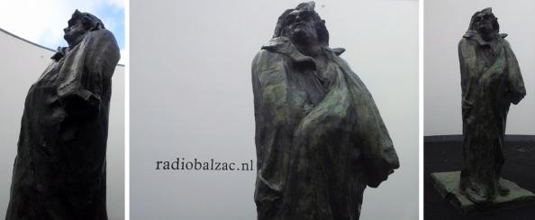 De installatie Radio Balzac van Arnoud Holleman in Het Oog van het Van Abbemuseum in Eindhoven.