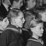 Thomanerchor, 1953. Foto: Deutsche Fotothek