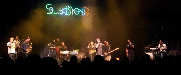 Typhoon op het So What's Next? festival in Muziekgebouw Eindhoven, 01-11-2014.