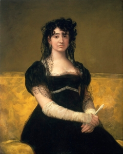 Goya: Portrait of Doña Antonia Zárate. In bezit van de National Gallery of Ireland en naar verwachting te zien in de tentoonstelling 'Goya: the portraits'.